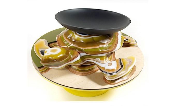 Хелла Йонгериус. Набор стеклянной посуды