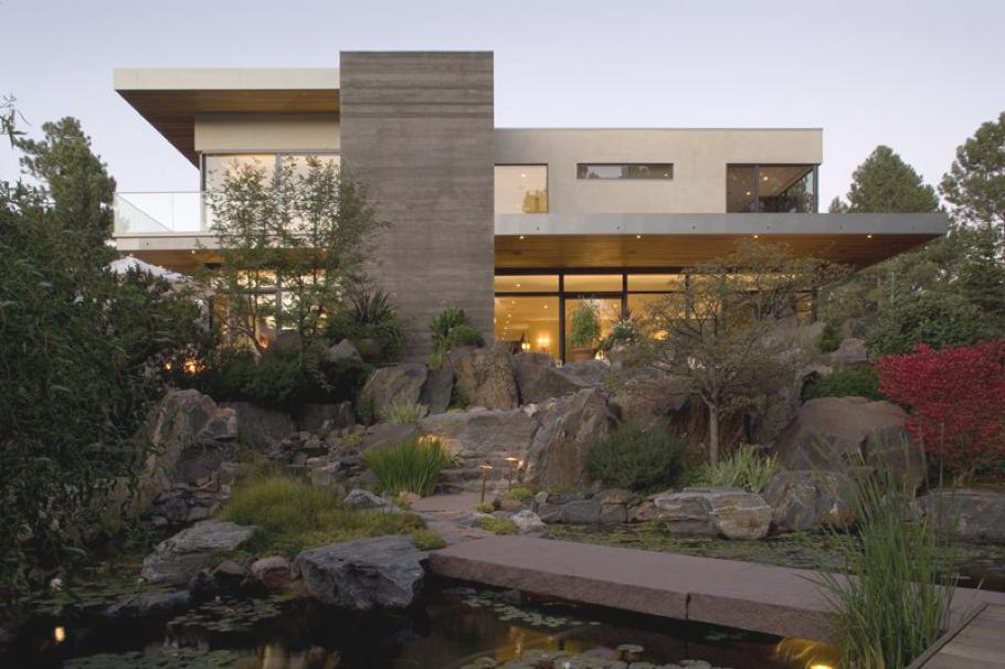 Интерьер загородного дома в стиле лофт: стильный особняк в штате Колорадо