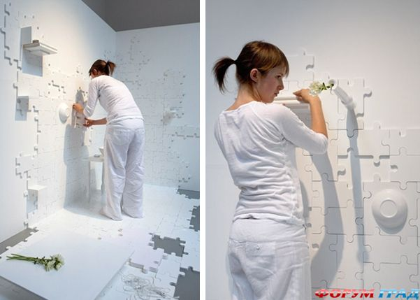 Пазлы на стену своими руками 26
