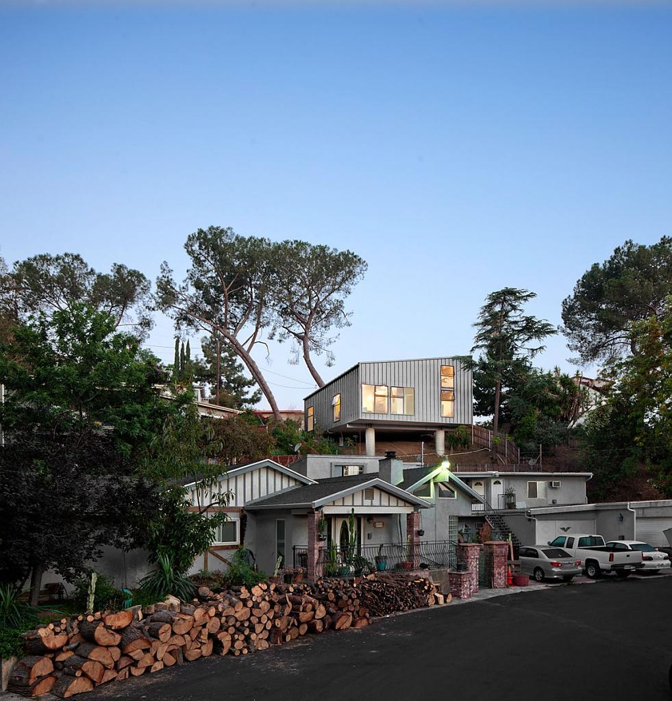 Маленькие уютные дома: проекты и фото оригинального BIG - small House в Калифорнии