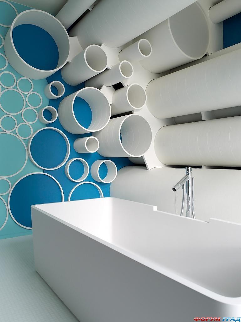 Ванная комната в Д-Отеле