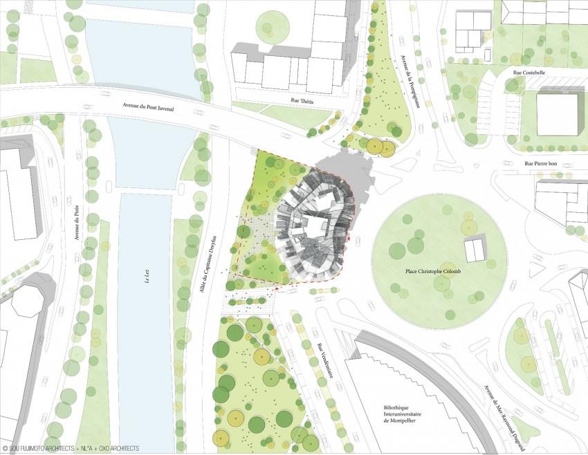 Дом Arbre Blanc/White Tree от Sou Fujimoto Architects