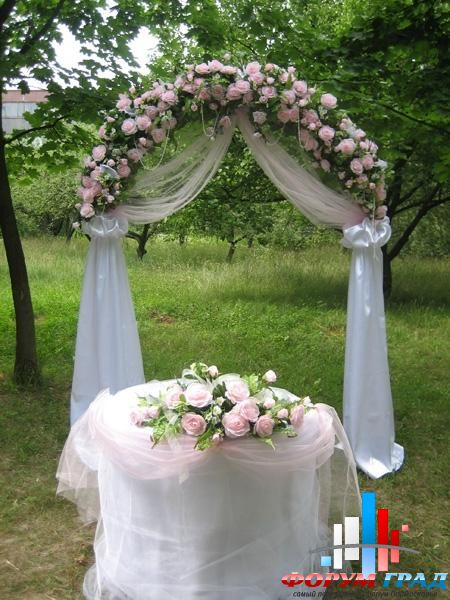свадебная арка своими руками пошаговая инструкция с фото - фото 8