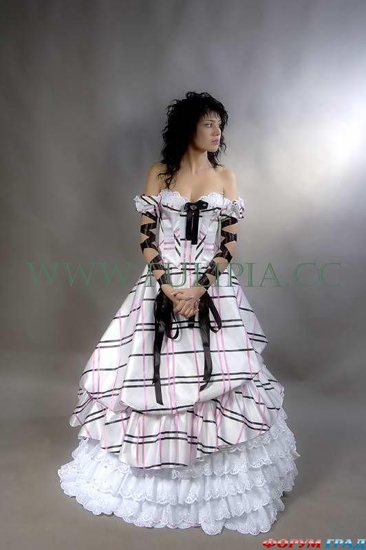 Креативные свадебные платья фото 6
