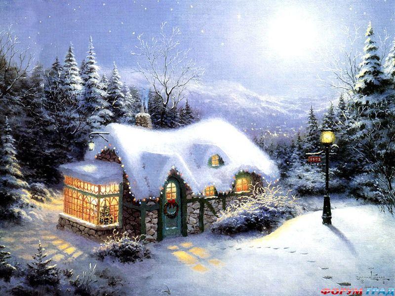 красивые картинки рождество