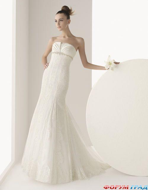 Элегантное свадебное платье для мамы
