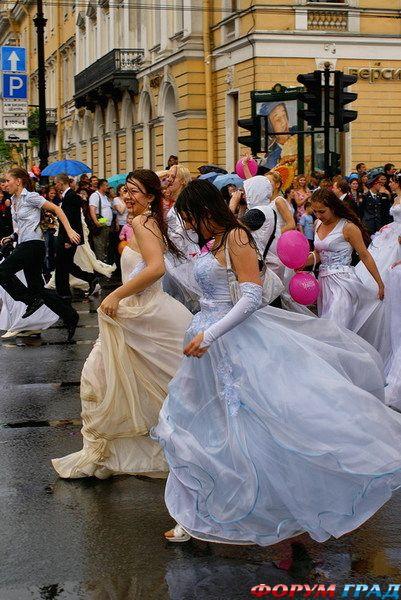 Натянули невесту