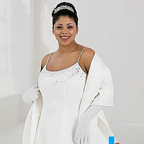 Выбираем свадебное платье для полных невест.