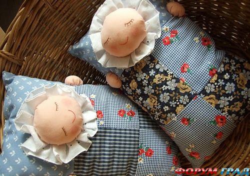 интерьерная детская подушка