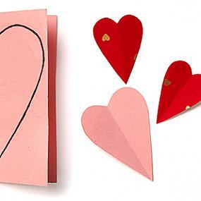 Как сделать ровное сердечко из бумаги