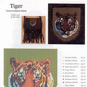 Символ 2010 года ТИГР во всех ипостасьях (вышивка, объемные фигурки, кулоны и все на что способна ваша фантазия) .