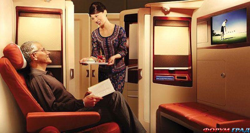Стюардесса удовлетворила пассажира 10 фотография