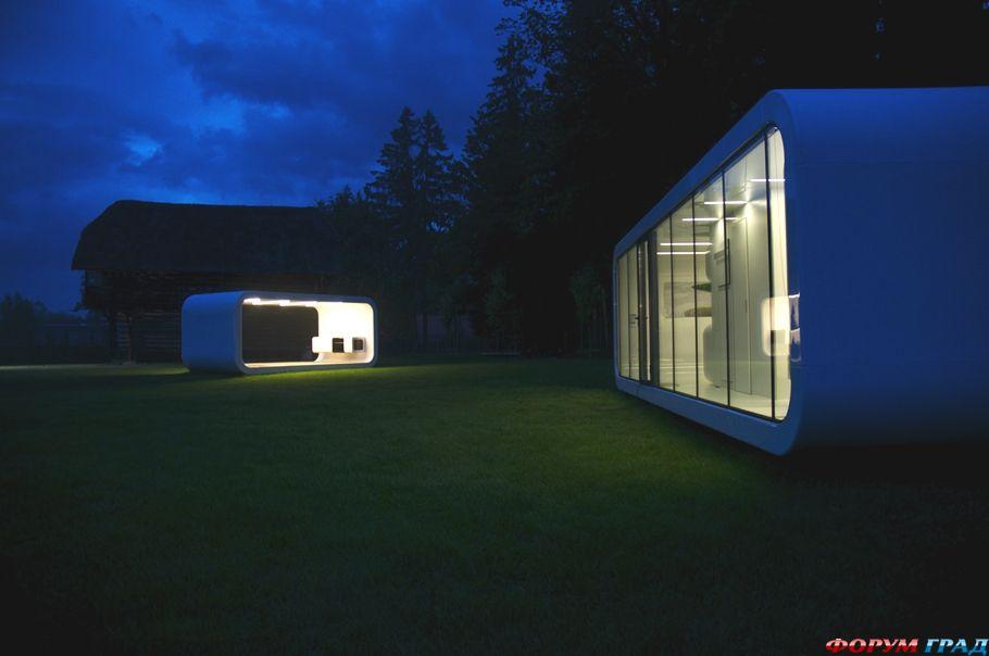 Революционные модульные дома Coodo – фото и описание