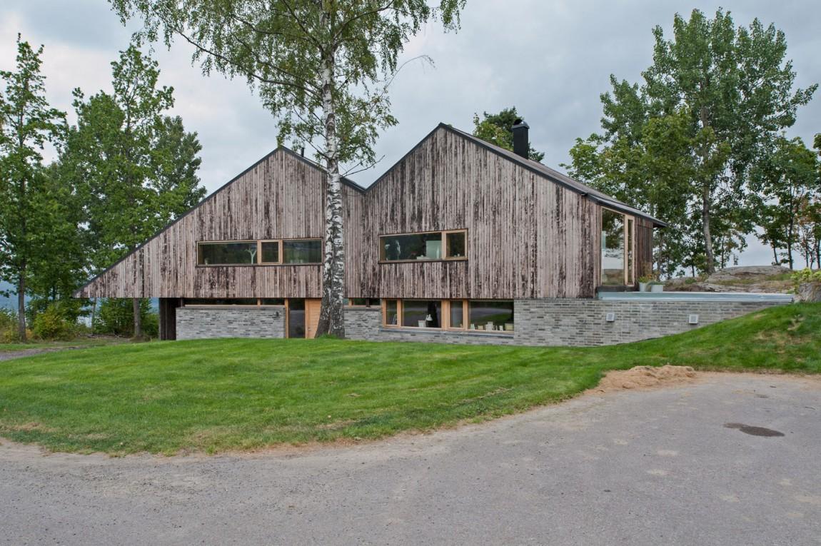 Великолепный дизайн уютного загородного дома