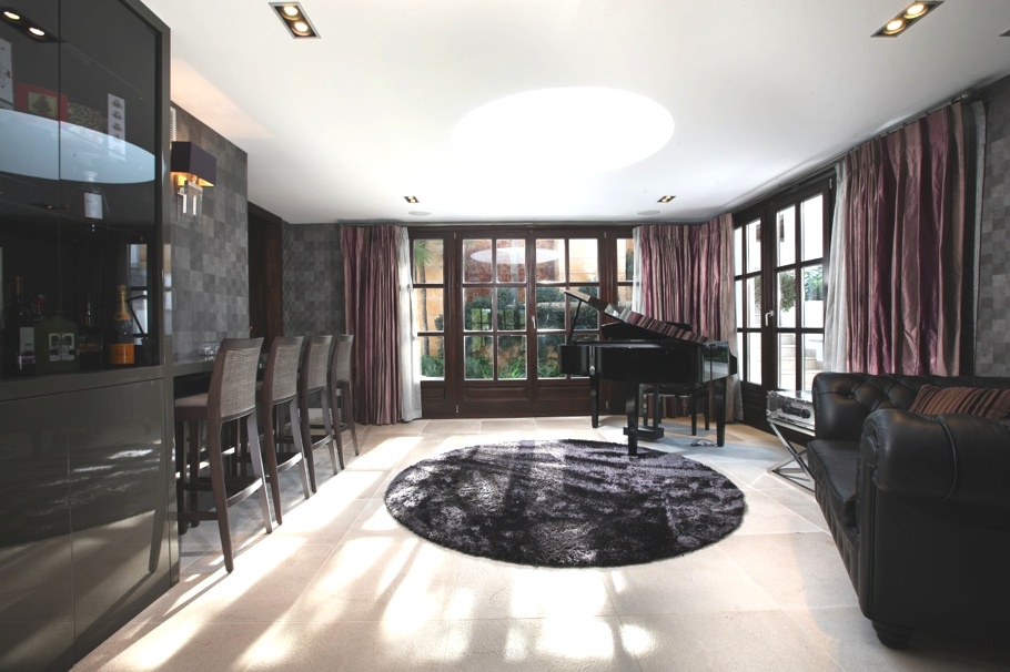 Интерьер виллы Treehouse на Майорке