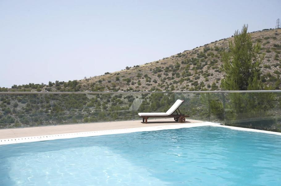 Частный особняк Oikia Panorama Voulas в Афинах   luxury villa athens greece 03