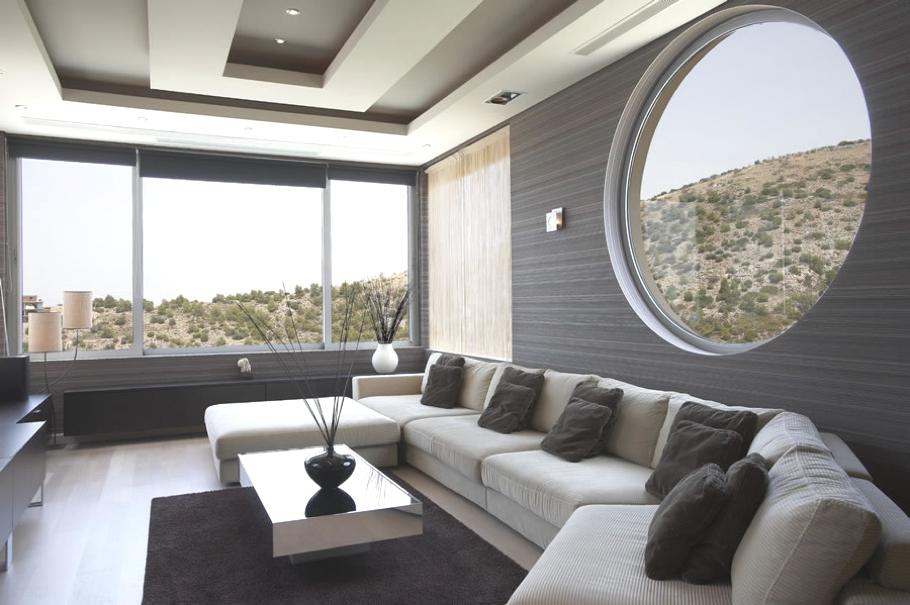 Частный особняк Oikia Panorama Voulas в Афинах   luxury villa athens greece 08