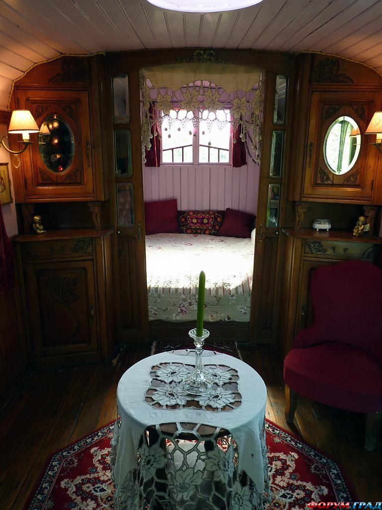 В отеле La Roulotte