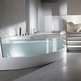 Deep soaking bathtubs for small bathrooms