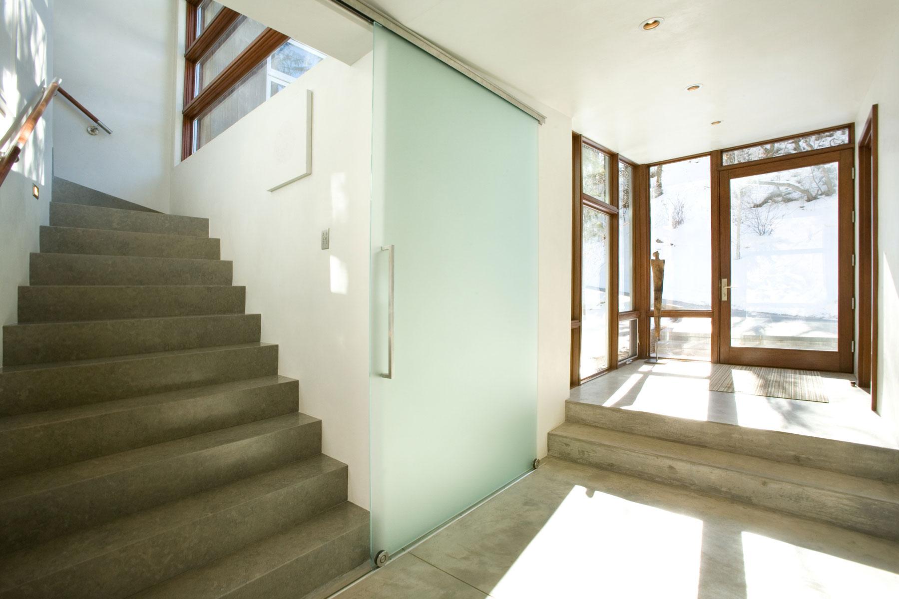 Интерьер резиденции Piampiano от Studio B Architects, Woody Creek, Колорадо, США