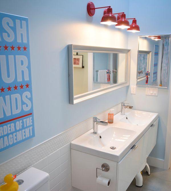 23 идеи дизайна детской ванной комнаты