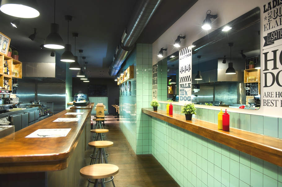 Дизайн ресторана Frankfurt в Барселоне
