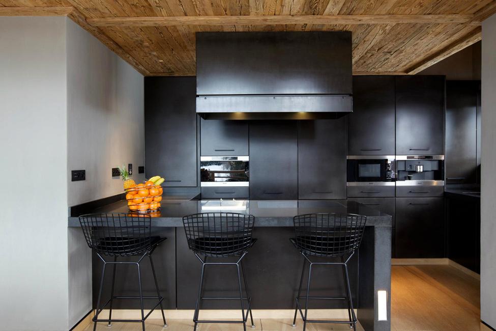 Дизайн маленькой кухни с барной стойкой 2017-2018 современные идеи