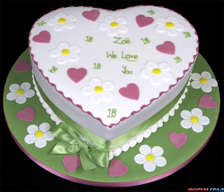 Торты на день рождения девочке в домашних условиях