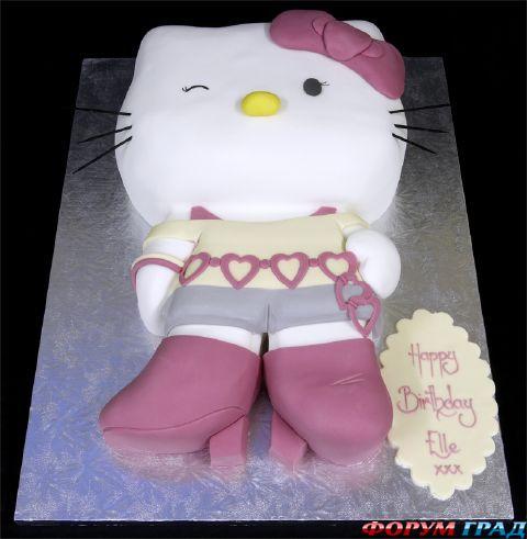 Торт-кот продолжение.