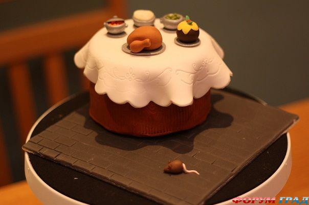 Праздничные идеи украшения тортов