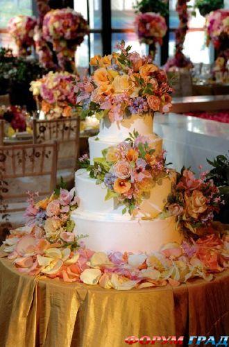 Красивые украшения из живых цветов
