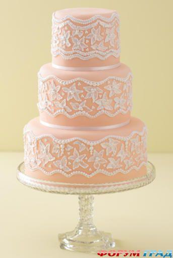 Как самому сделать красивые торты