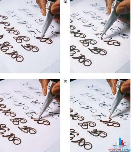 как написать надпись на фотографии