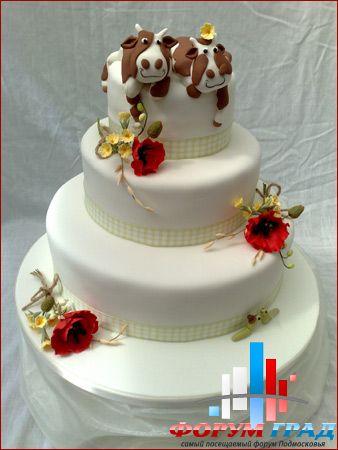 фото прикольные свадебные торты
