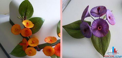 Мк тюльпаны из мастики