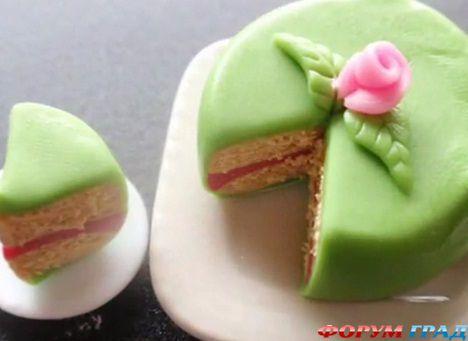 Мастер класс торты из мастики лучшие