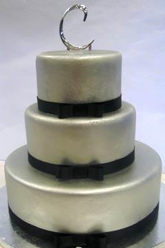 Как сделать торт серебряный 190