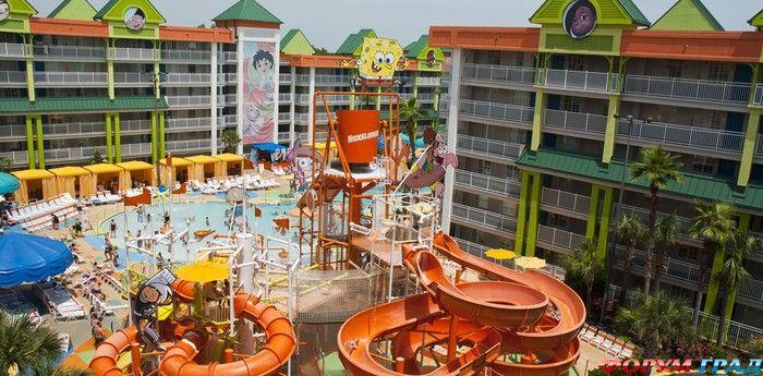 Отель Nickelodeon Suites Resort