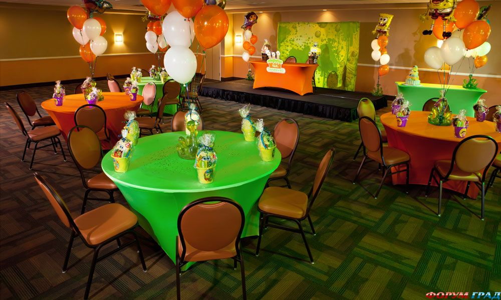 Забавное кафе в отеле Nickelodeon Suites Resort