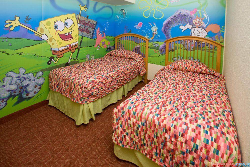 Номер в отеле Nickelodeon Suites Resort