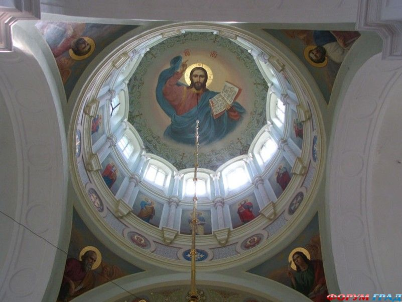 Можайский район.  Семеновское.  Спасо-Бородинский монастырь.