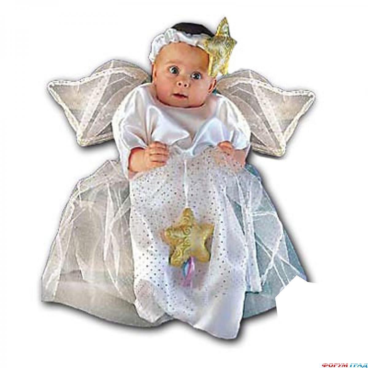 Как сделать костюм с крыльями ангела