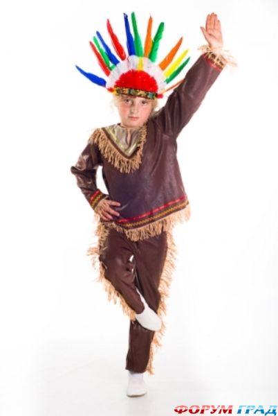 Сделать своими руками костюм индейцев