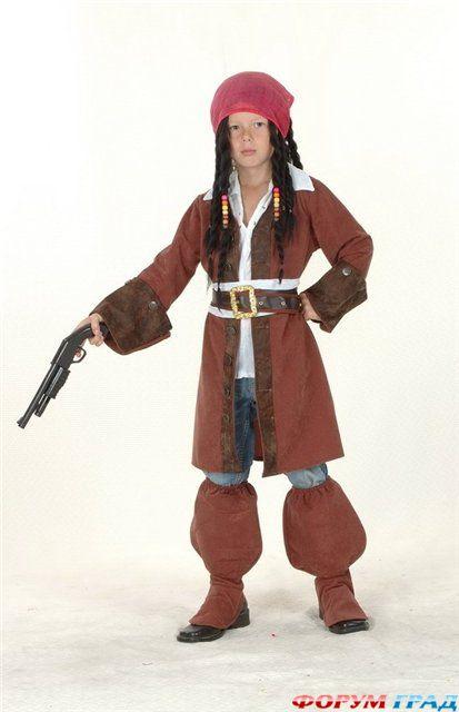 Новогодний детский костюм Пират Карибского моря.