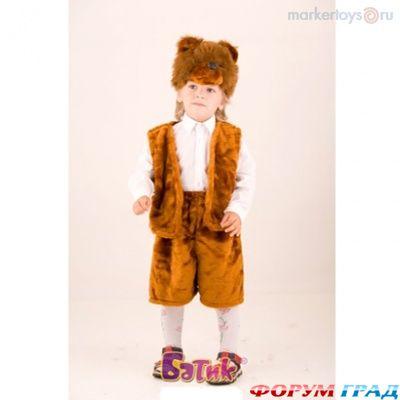 Как сшить детский кастюм медведь