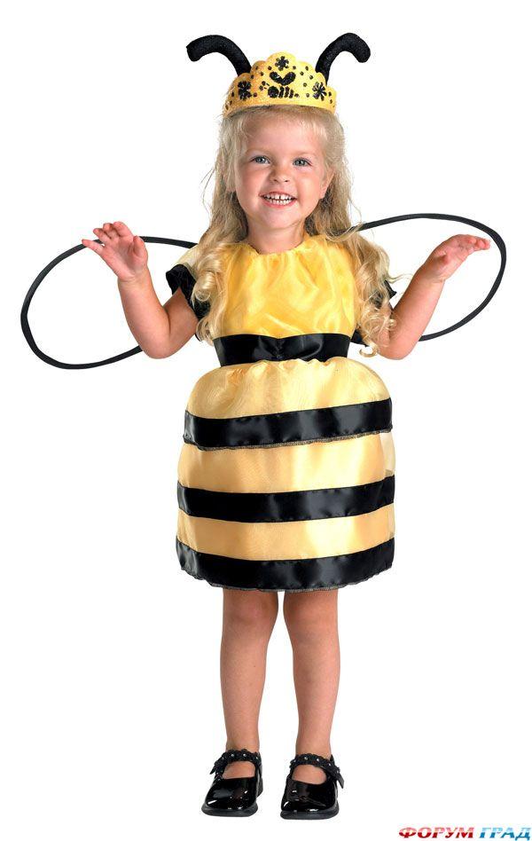 Карнавальный костюм пчелка своими руками