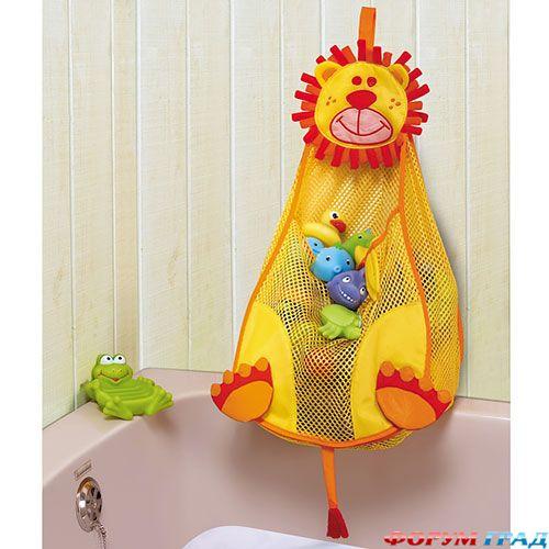 Сетка-сумка для игрушек в ванную Babymoov.