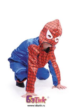 Выкройка костюма человек паук 181