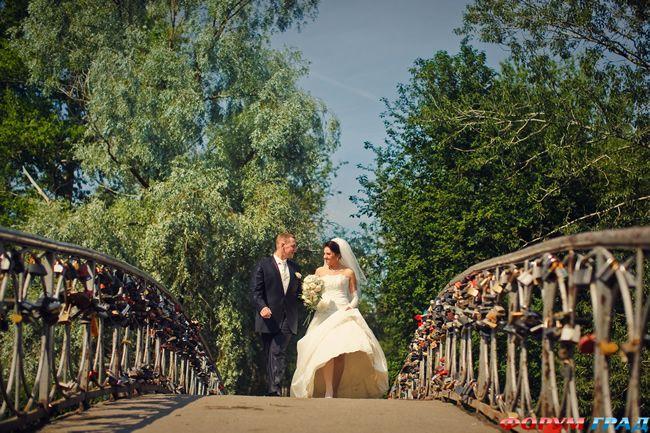 Мосты для замков на свадьбу