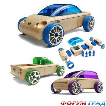 Колеса на игрушечную машину своими руками